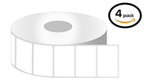 2,5cm Core-2x 1Zebra kompatibel Thermodirekt Etiketten für Zebra Desktop Drucker 1 Inch Core - 2 x 1 - Prime - 04 Rolls Amazon Prime - 04 Rolls (Etiketten 2x1 Drucker Zebra)