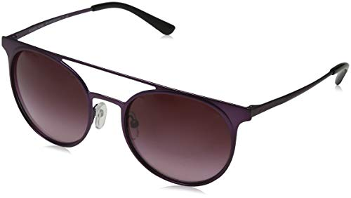 Michael Kors Damen GRAYTON 11588H 52 Sonnenbrille, Matte Plum/Burgundygradient