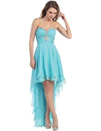 Suchergebnis Auf Amazonde Für Kleid Vorne Kurz Hinten Lang Bekleidung