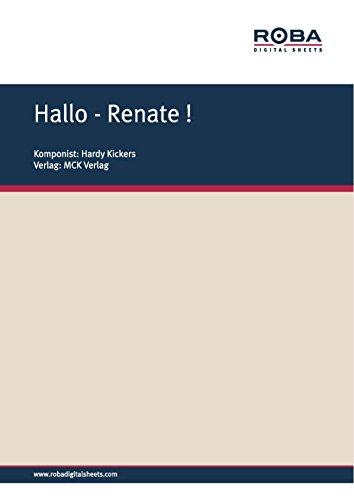 hallo-renate-notenausgabe-german-edition
