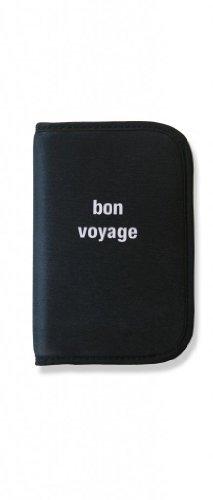 orb-travel-wp508-bkw-bon-voyage-black-white-rfid-passport-holder-travel-wallet-zippered-credit-debit