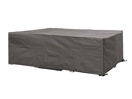 Perel Garden OCLS250 Schutzhülle Für Lounge-Set-250 cm, Schwarz, 250 x 250 x 75 cm