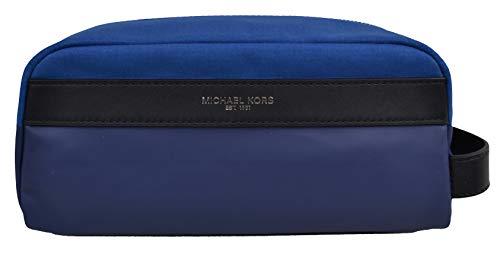 Michael Kors, Beauty Case Unisex adulto Blu Blu taglia unica
