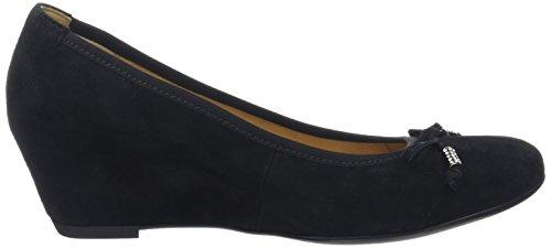 Gabor Fashion, Pompes à Plateforme Plate Femme Noir (schwarz 17)