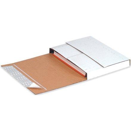 White Self Seal Multi Depth Bookfold 11 1/8 x 8