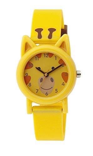 Tikkers TK0086 - Reloj de pulsera unisex, silicona, color amarillo