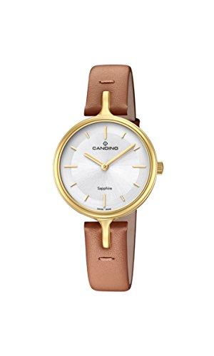 Candino Reloj Análogo clásico para Mujer de Cuarzo con Correa en Cuero C4649/1
