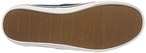 JACK & JONES Herren Jfwvision Block Navy Blazer Sneaker Blau (Navy Blazer)