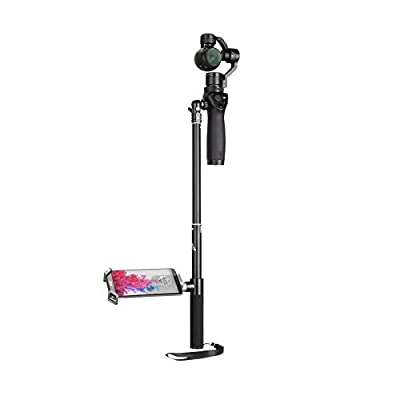 Fascinated Drone Extension Rod Scalable Extension Selfie Stick for OSMO/ OSMO Plus/ OSMO Mobile Handheld Gimbal