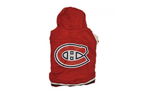 Hunter NHL hapj0408Montreal Canadiens Varsity Jacke für Haustiere (Jacke Varsity Hund)