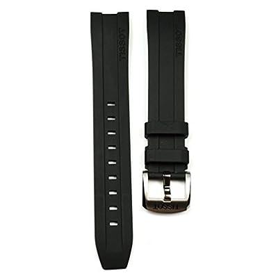 Tissot PRC 200 T055417A correa de caucho negra T603032879