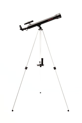Tasco 50x600mm Novice Refractor - Telescopio, Negro