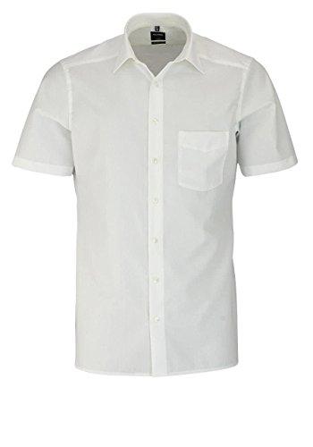 OLYMP Herren Hemd Modern Fit Kurzarm Sand