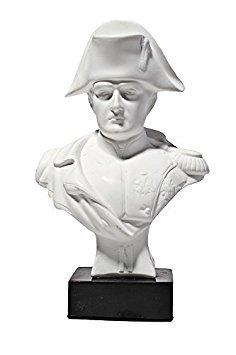 Napoleon-büste (Französischer Kaiser Napoleon Bonaparte Marmor Büste Statue Skulptur 13,5 cm weiß)