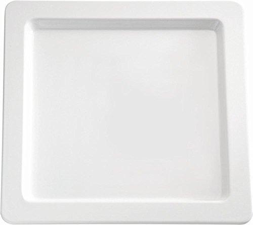 Plateau en mélamine APS Gd104, Carré, 53,3 cm Blanc
