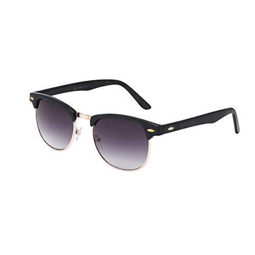 FashionLDNHerren Sonnenbrille Schwarz Schwarz