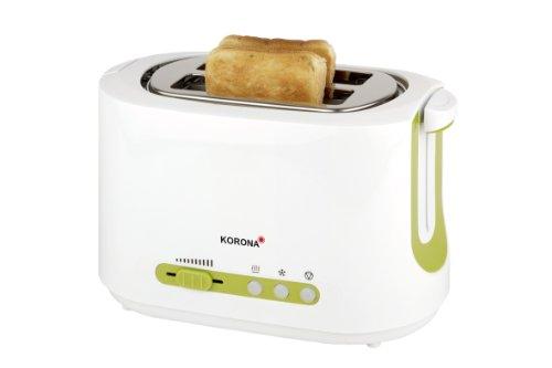 Korona Toaster, weiß-grün, 21500