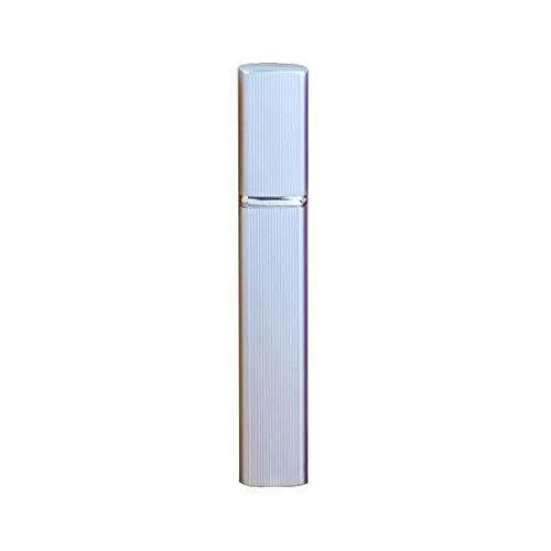12ML Flacon pulvérisateur portatif Flacon à parfum en métal et aluminium Produits pour femmes Haute qualité Carré Bouteille en verre cosmétique Mise en bouteille de produits de soin de la peau