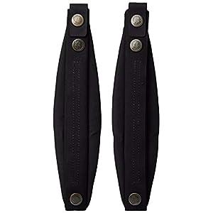 Fjällräven Kånken Mini Shoulder Pads - Zaini Unisex Adulto, Nero (Black), 24x36x45 cm (W x H L)