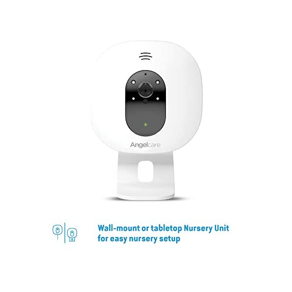 Angelcare Ac320 Baby Video Monitor Angelcare 4.3'' Large led screen Ideal for multiples & toddler, you can add an extra nursery unit* Wall-mount or tabletop nursery unit 4
