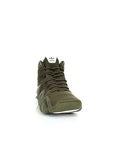 adidas Herren Crazy 8 ADV PK Fitnessschuhe grün (Carnoc/Carnoc/Ftwbla)