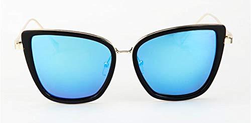 ZRTYJ Sonnenbrillen Superstar Polaroid Sonnenbrille Damen Cat Eye Vintage Polarized Sonnenbrille Herren Übergröße