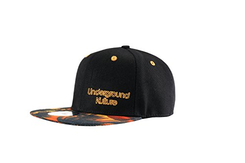Underground Kulture Tropical Series Snapback Baseball Cap (Florida Sunset)