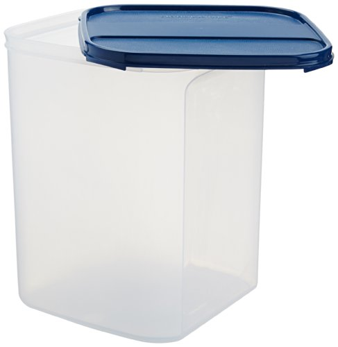 Signoraware Modular Square Plastic Container, 6.5 Litres, Mod Blue