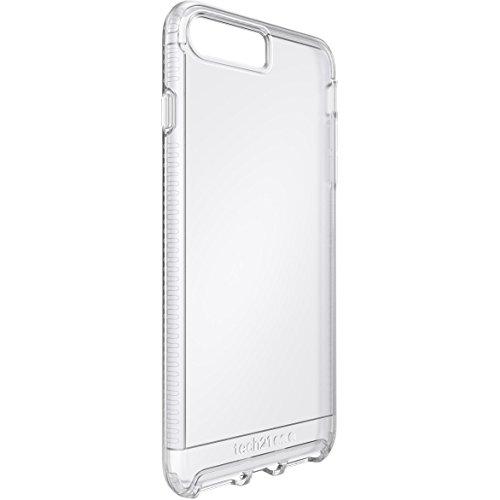 Tech21 Impact Clear Hülle mit BulletShield Aufprallschutz für Apple iPhone 7  Plus - Transparent
