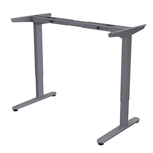 FLEXISPOT E2S Höhenverstellbarer Schreibtisch Elektrisch höhenverstellbares Tischgestell, Passt...