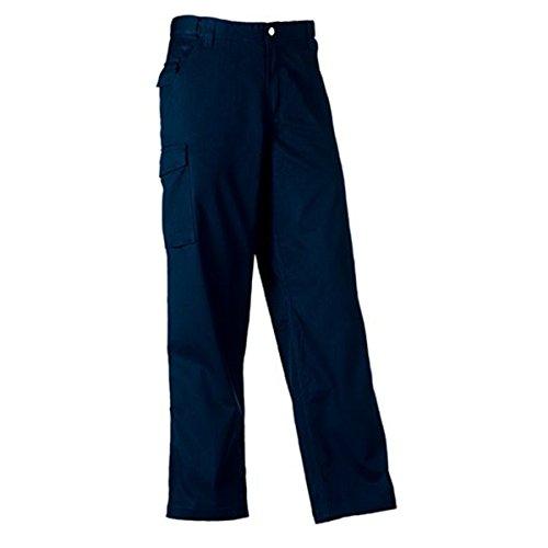 ATELIER DEL RICAMO - Pantaloni Uomo Twill Russell, Colore: Blu Navy, Taglia: 48