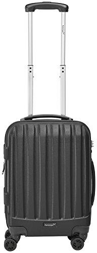 Packenger Velvet Koffer, Trolley, Hartschale 3er-Set in Schwarz, Größe M, L und XL - 6