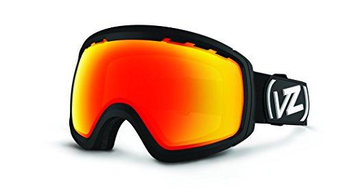 Vonzipper Feenom n.l.s. Brillen, unisex, Freenom Nls Men's Goggles Eyewear, Black Satin/Fire Chrome