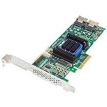 Adaptec RAID 6805E - Controlador RAID (SAS, SATA, PCI Express x4, Half-height (low-profile), 0, 1, 10, 1E, JBOD, PMC-Sierra PM8013, 6 Gbit/s)