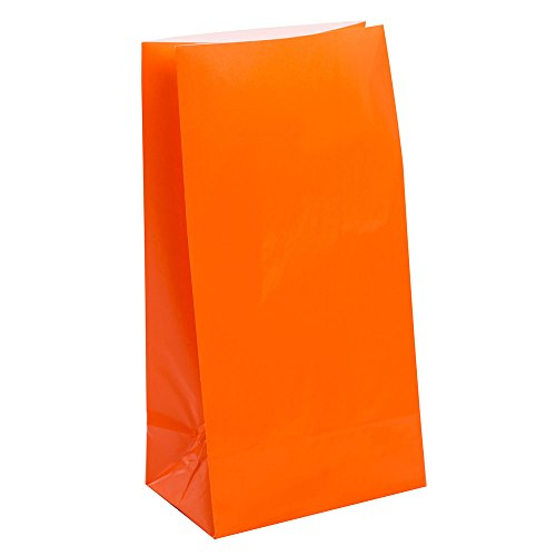 Orange Party Supplies (Papier Partytüten)