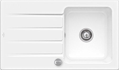 Villeroy & Boch Architectura 50-335002R1 Weiß(alpin) Einbau Keramikspüle Küche