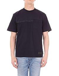 8fb51f10257 Prada Homme UJN4221NWTNAVY Bleu Coton T-Shirt