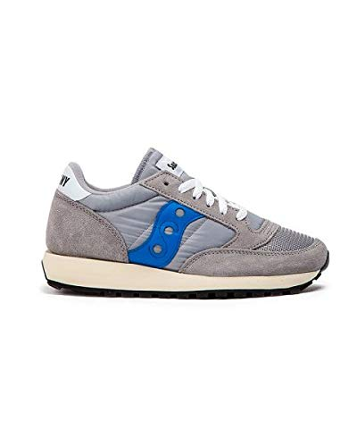 Saucony Damen Jazz Original Vintage Sneakers, Grau (Grey/Blue 72), 38.5 EU -