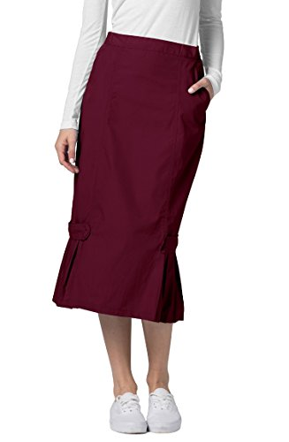 ADAR UNIFORMS Adar Universal Tabbed Pleat Panel Scrub Skirt -