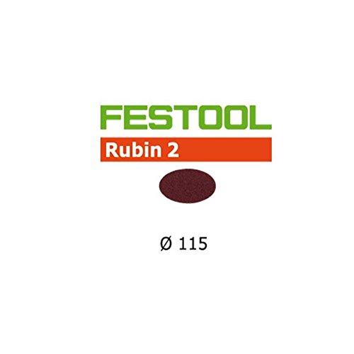 Festool Schleifscheiben STF D115 P60 RU2/50 Rubin 2