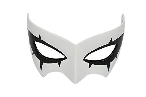 Halloween Persona Maske Protagonist Masken Augenmaske Cosplay Kostüm Anime Erwachsene Weiße Mask Party Fancy Dress Merchandise ()