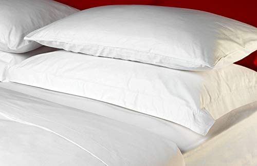 5ae670f90c 100% Egyptian Cotton King Size Duvet Cover Set- White by Luxury Home Linens