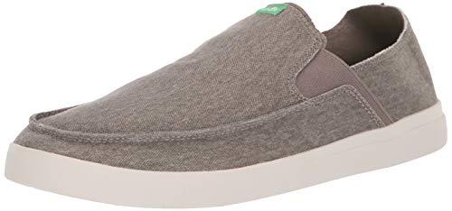 Sanuk Herren Pick Pocket Slip-On Sneaker Turnschuh, Brindle/Natural, 38.5 EU -