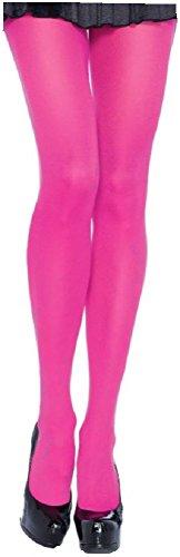 Leg Avenue Damen Strumpfhose Nylon 70 DEN Neon Pink Einheitsgröße 36 bis 40