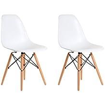 Aryana Home Eames Replik U2013 Set Stühle, 51 X 46,5 X 81,