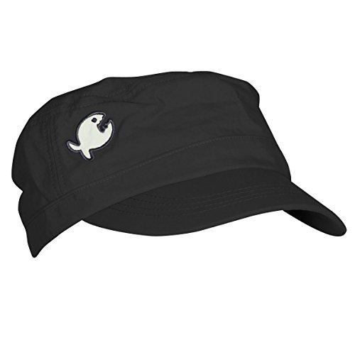 IQ-Company Erwachsene UV Mütze 200 Cap Rough Fish, Black, One Size, 3181012800-OS