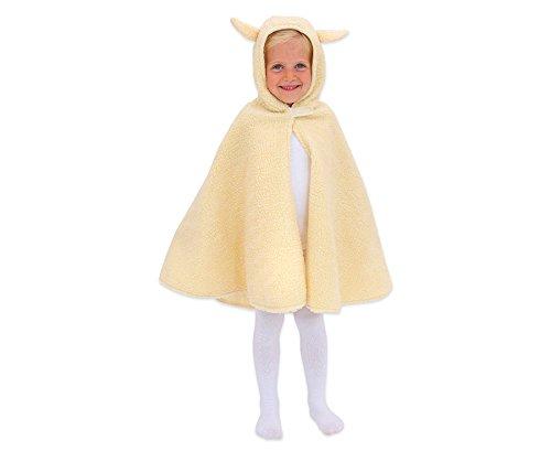 Krippe Schaf Für Kostüm (Kinderkostüm Schaf, Kaninchen, für Kinder von 3-8 Jahren, Fasching, Rollenspiele, Theater,)