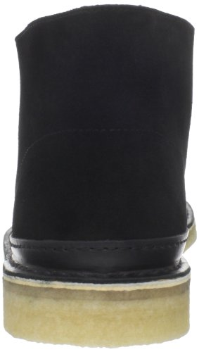 Boot Clarks Desert Guard Lace-up Black Suede