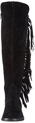 Tamaris 25909, Bottes hautes (sur genoux) avec doublure froide femme Noir - Noir