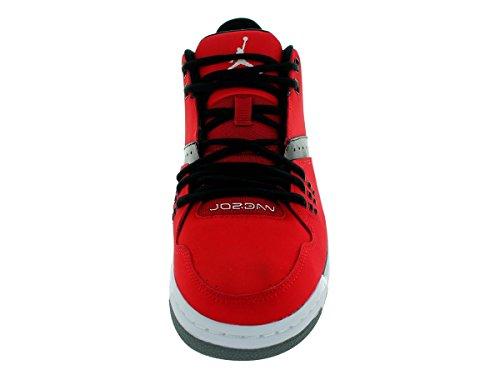 JORDAN JORDAN homme baskets basses 317820 601 Jordan Flight 23 Rouge / noir